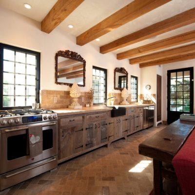 Красиво подобранные цвета на кухне