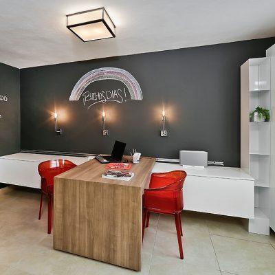 Оригинальный интерьер кабинета
