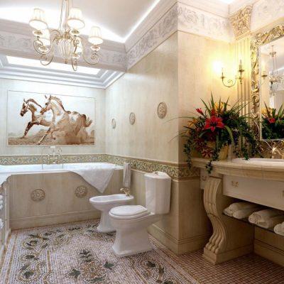 Отличный вариант ванной