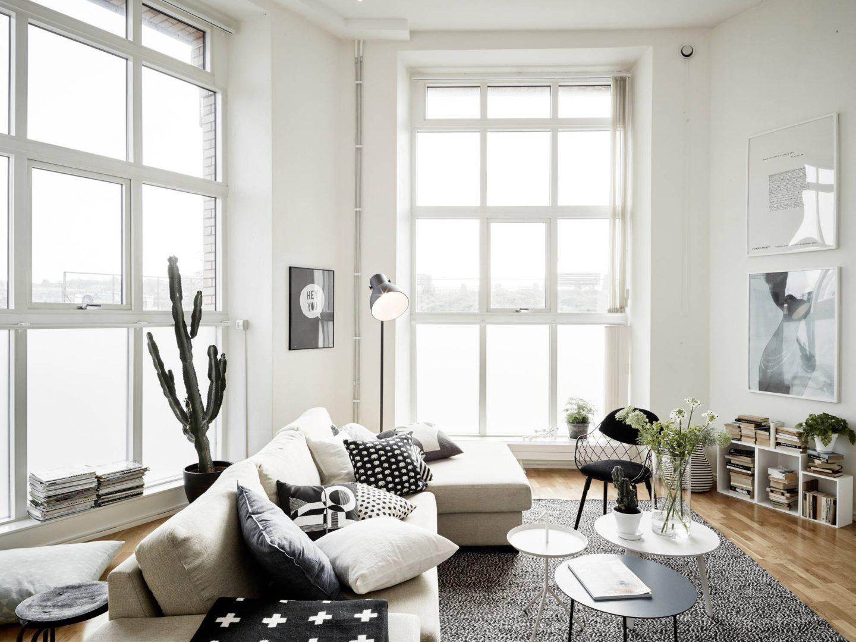 Минимализм и уют: гостиная в скандинавском стиле