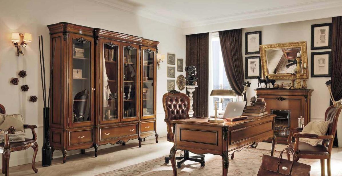 Домашний кабинет в стиле прованс: особенности оформления