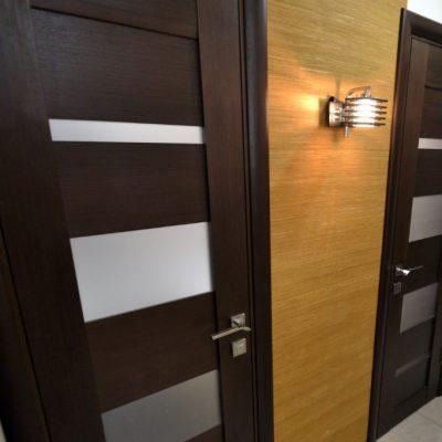 Двери в японском оформлении квартиры