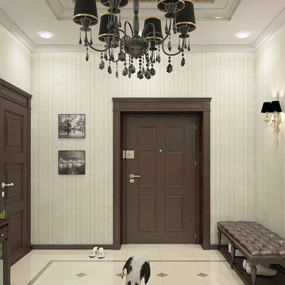 Двери и пол в интерьере
