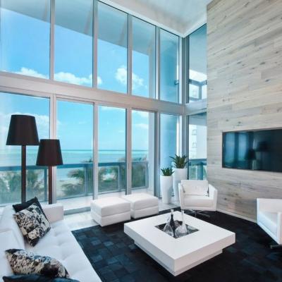 Панорамные окна в интерьере