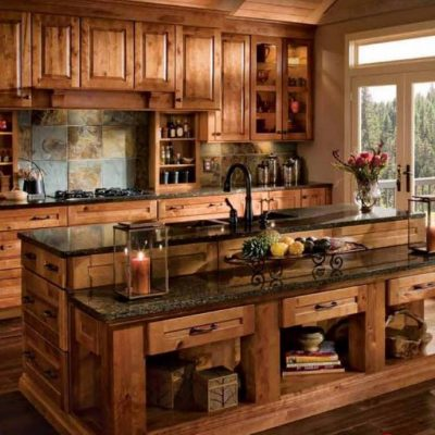 Полное отсутствие современности на кухне