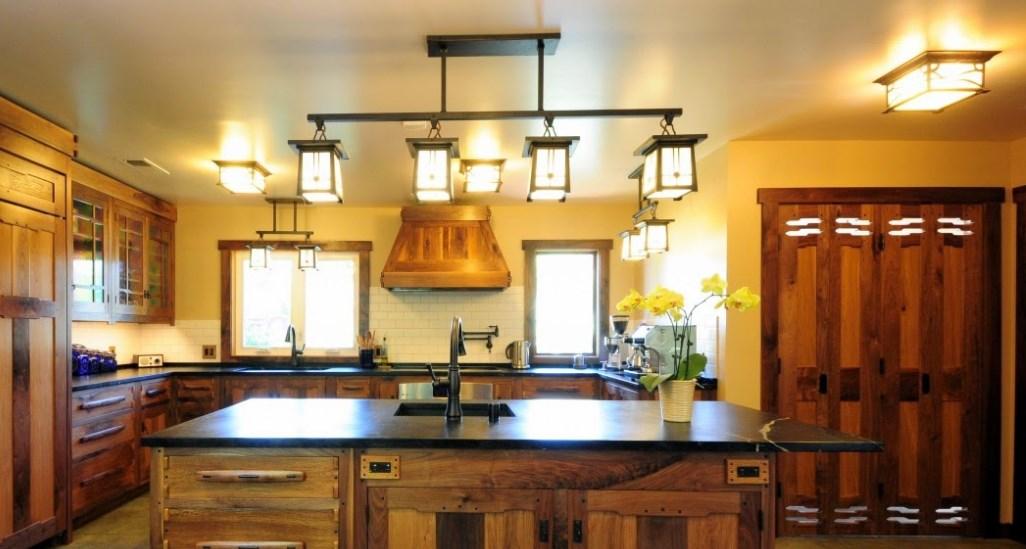 Освещение столешницы кухни