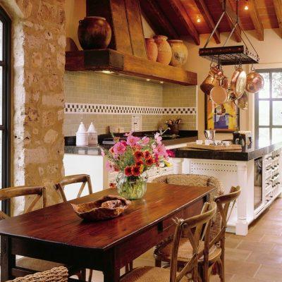 Мечта хозяйки деревенской кухни