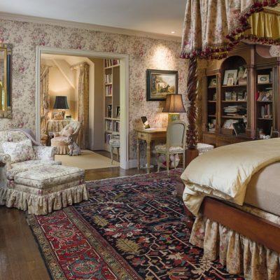 Спальня в британском стиле