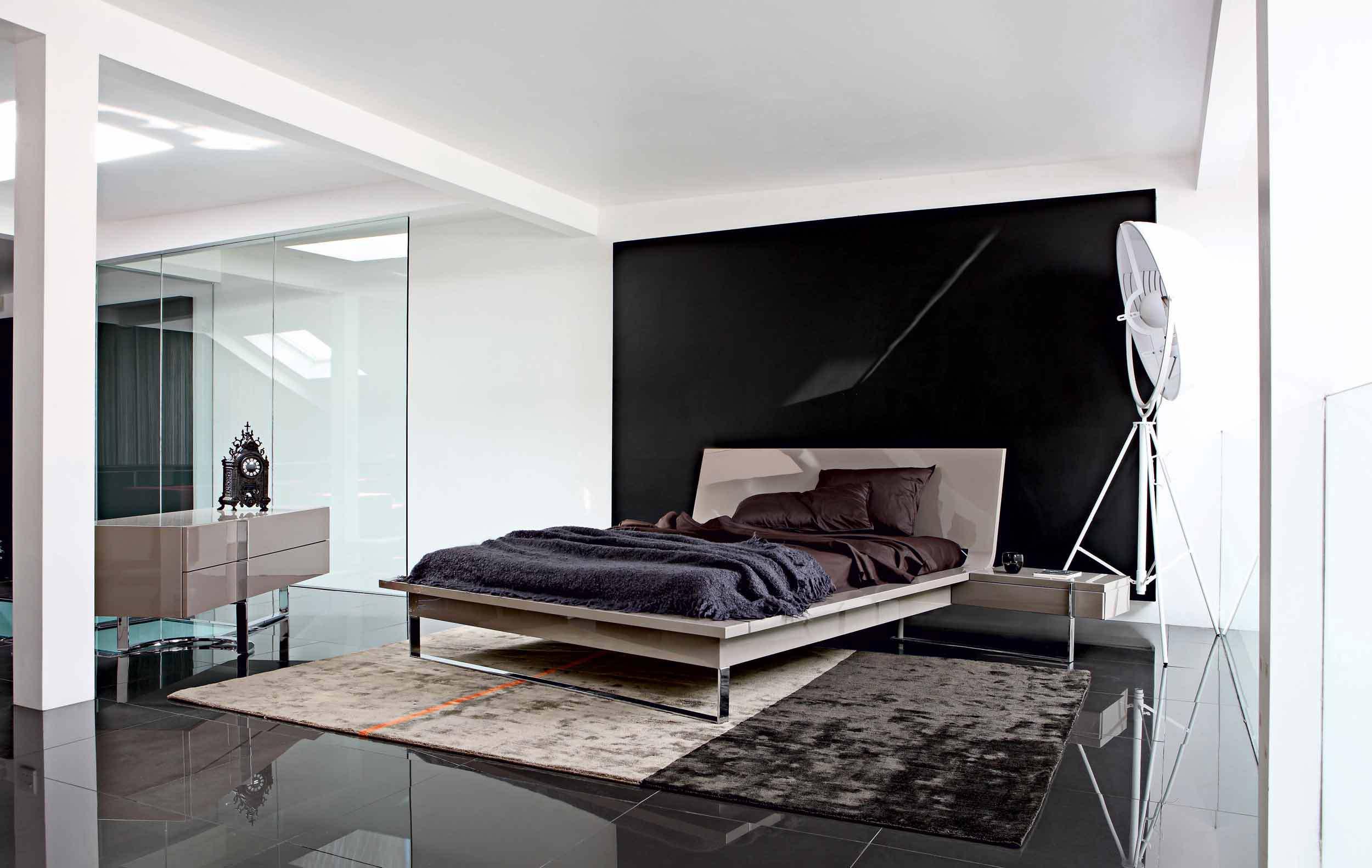 Спальня в стиле минимализм картинка