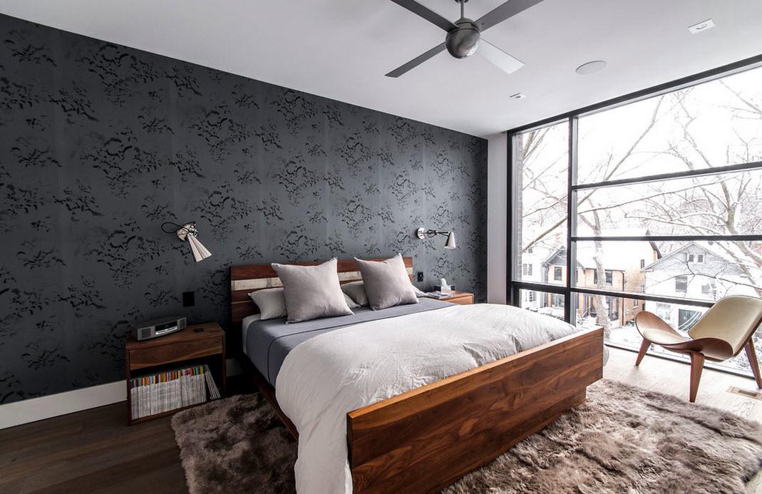Современная и функциональная спальня в стиле модерн