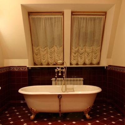 Стиль кантри для ванной комнаты