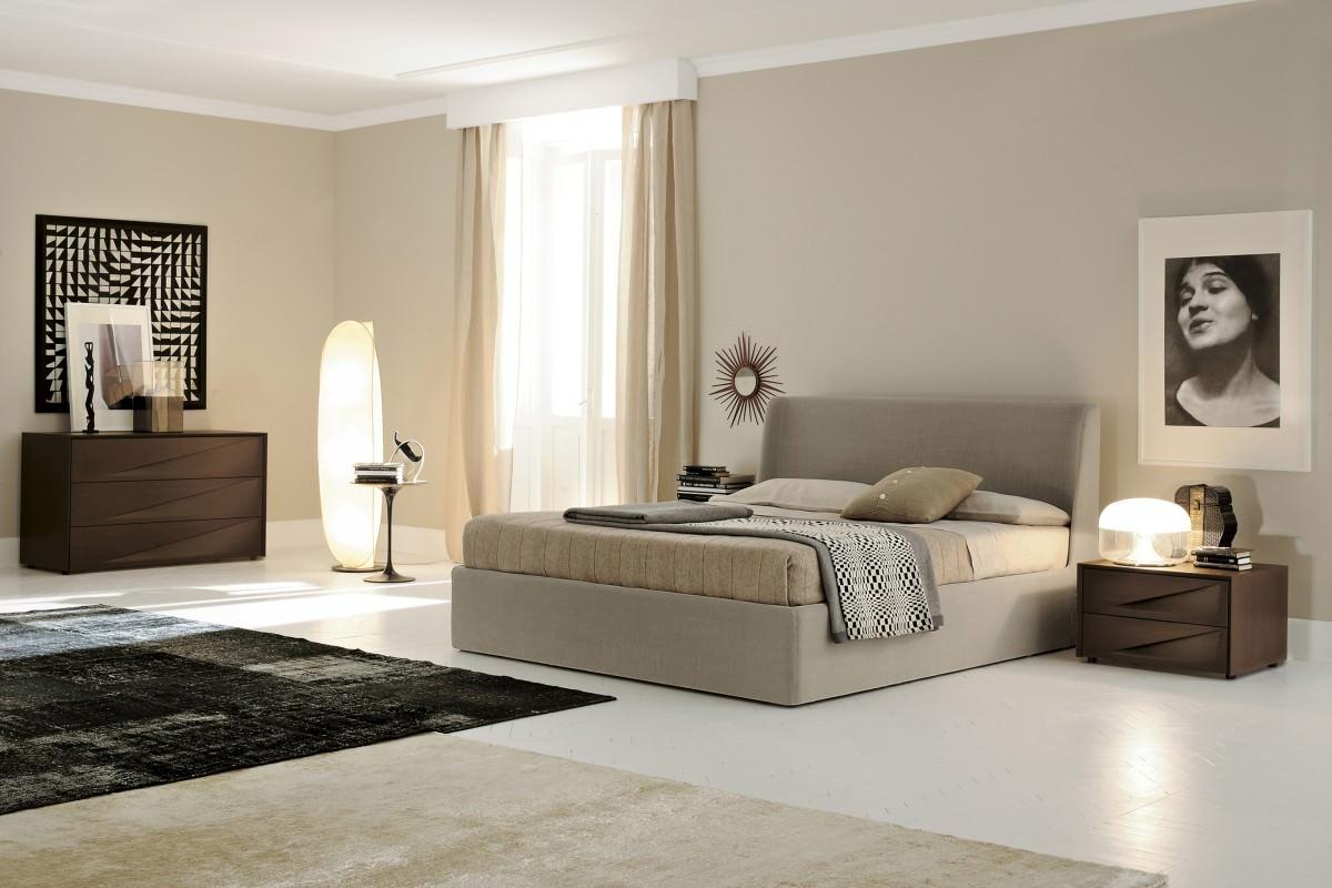 Стиль модерн в дизайне спальни