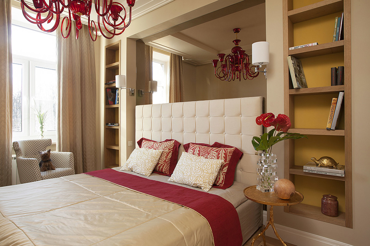 Уютная спальня в Американском стиле