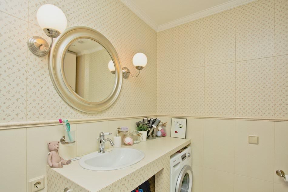 Ванная комната в дизайне квартиры