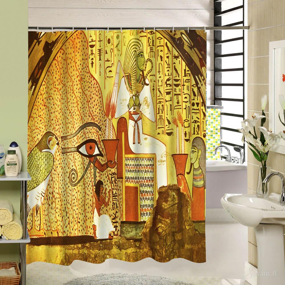 Ванная комната в египетском стиле фото