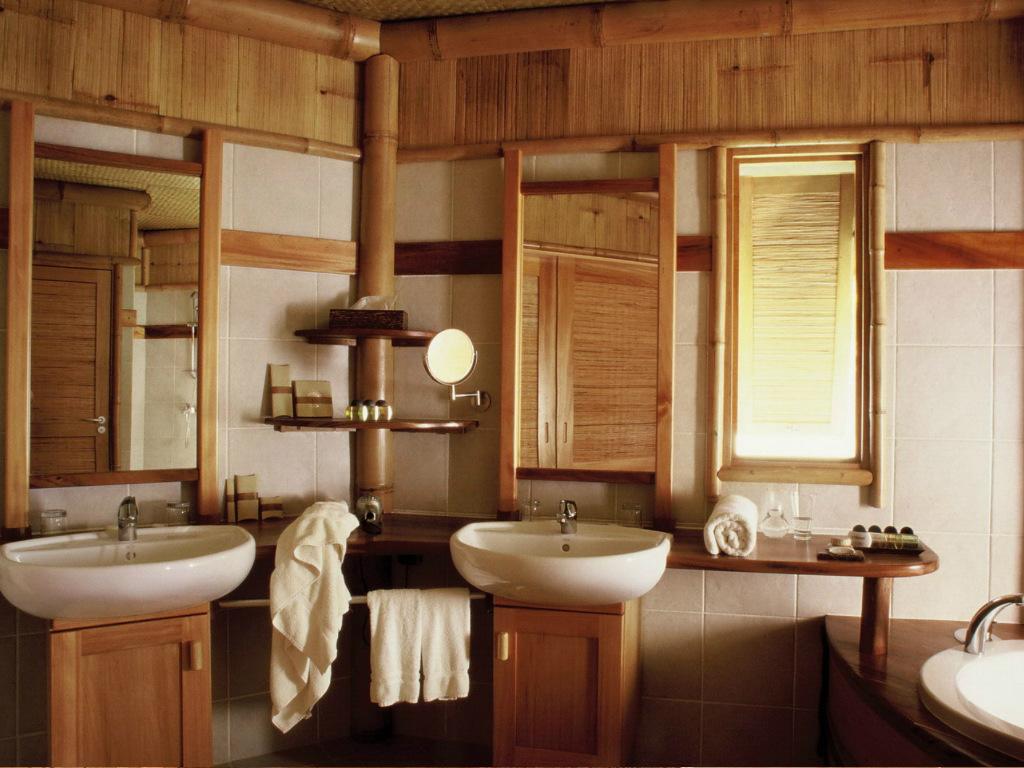 Ванная комната в сельской местности