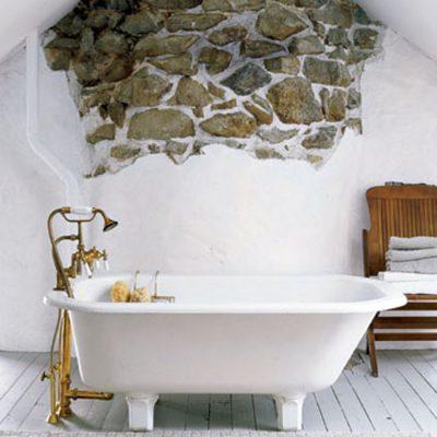 Ванная комната в стиле кантри картинка
