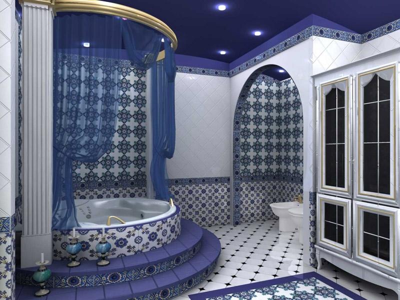 Ванная в марокканском стиле фото