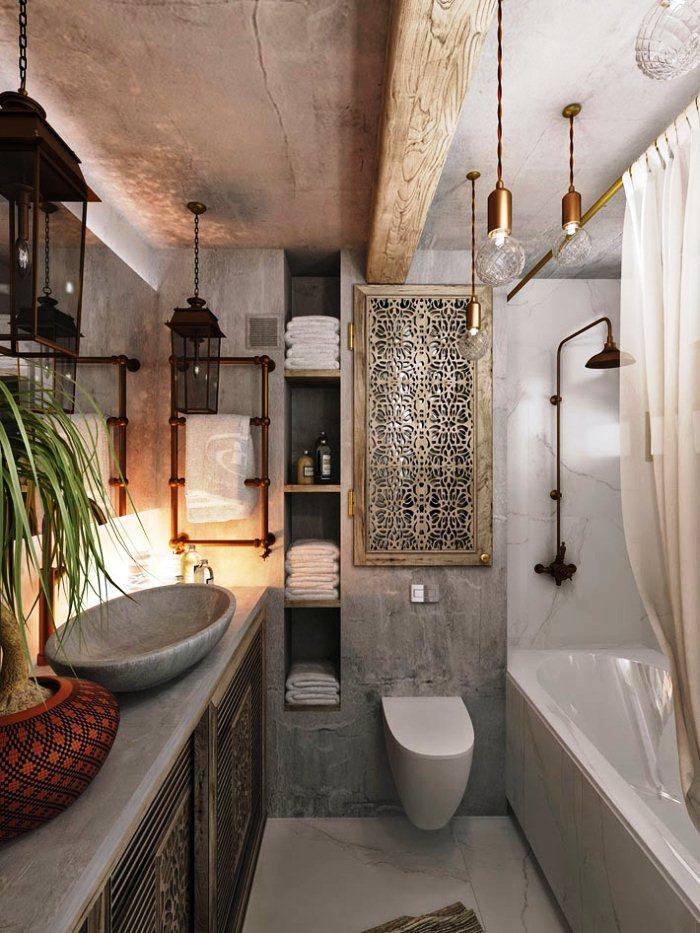 Ванная в марокканском стиле картинка