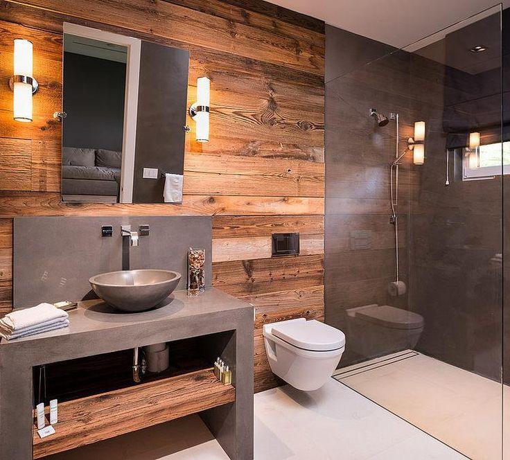 Как создать уникальную ванную в стиле лофт
