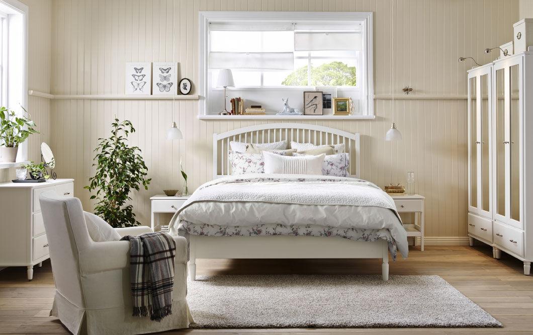 Как обустроить спальню в стиле кантри в обыкновенной квартире