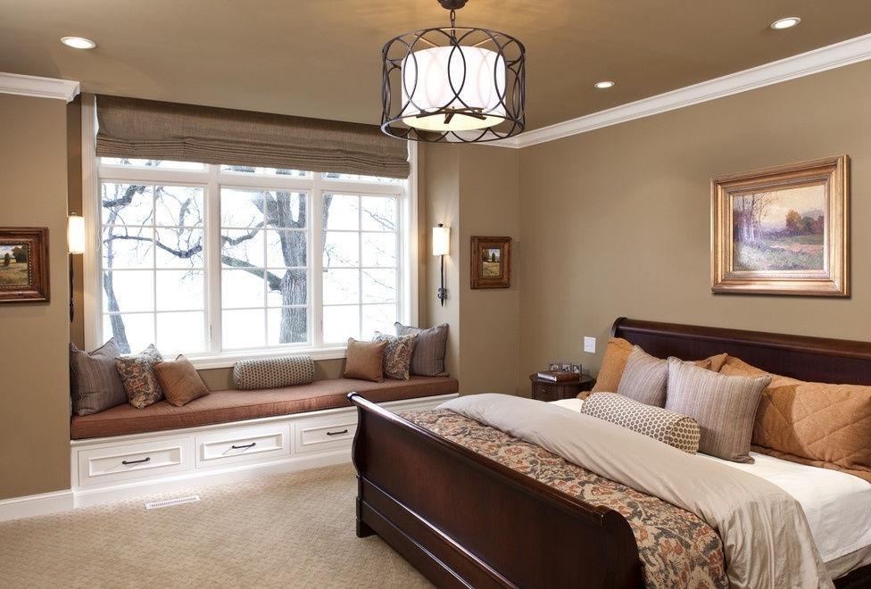 Для романтичных натур можно установить отдельный уголок для отдыха прямо на подоконнике
