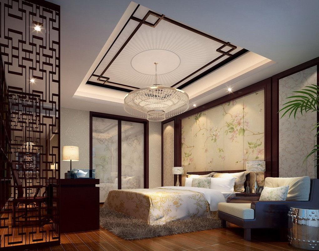 Спальня в китайском стиле - это элегантность без излишеств