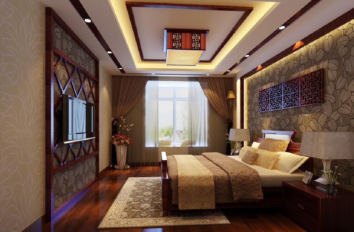 Несмотря на тонкий восточный колорит комнаты, современная плазма не будет смотреться чужеродно