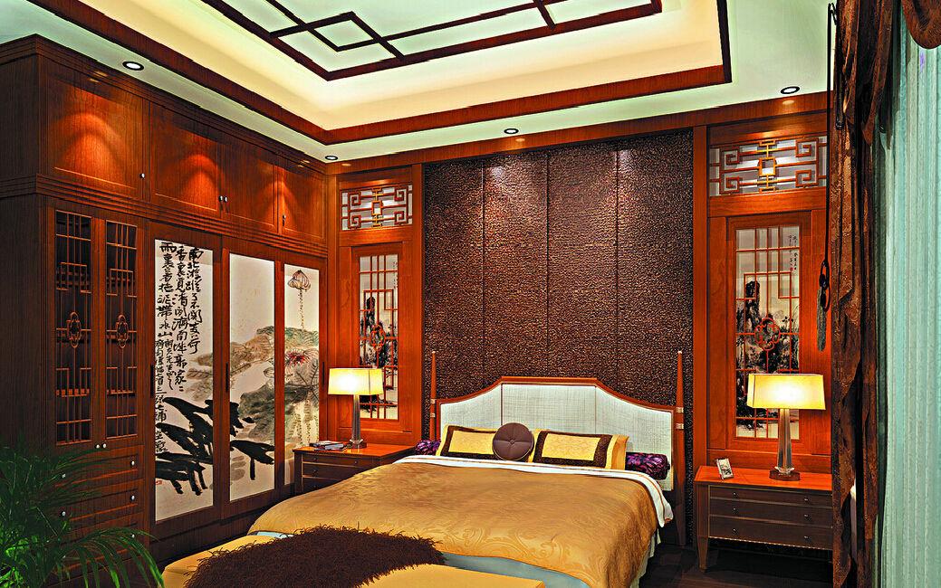 Шкафы с резными вставками - прекрасный способ добавить в спальню изюминку