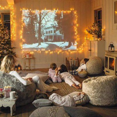 Уютная семейная гостиная прованс стиля