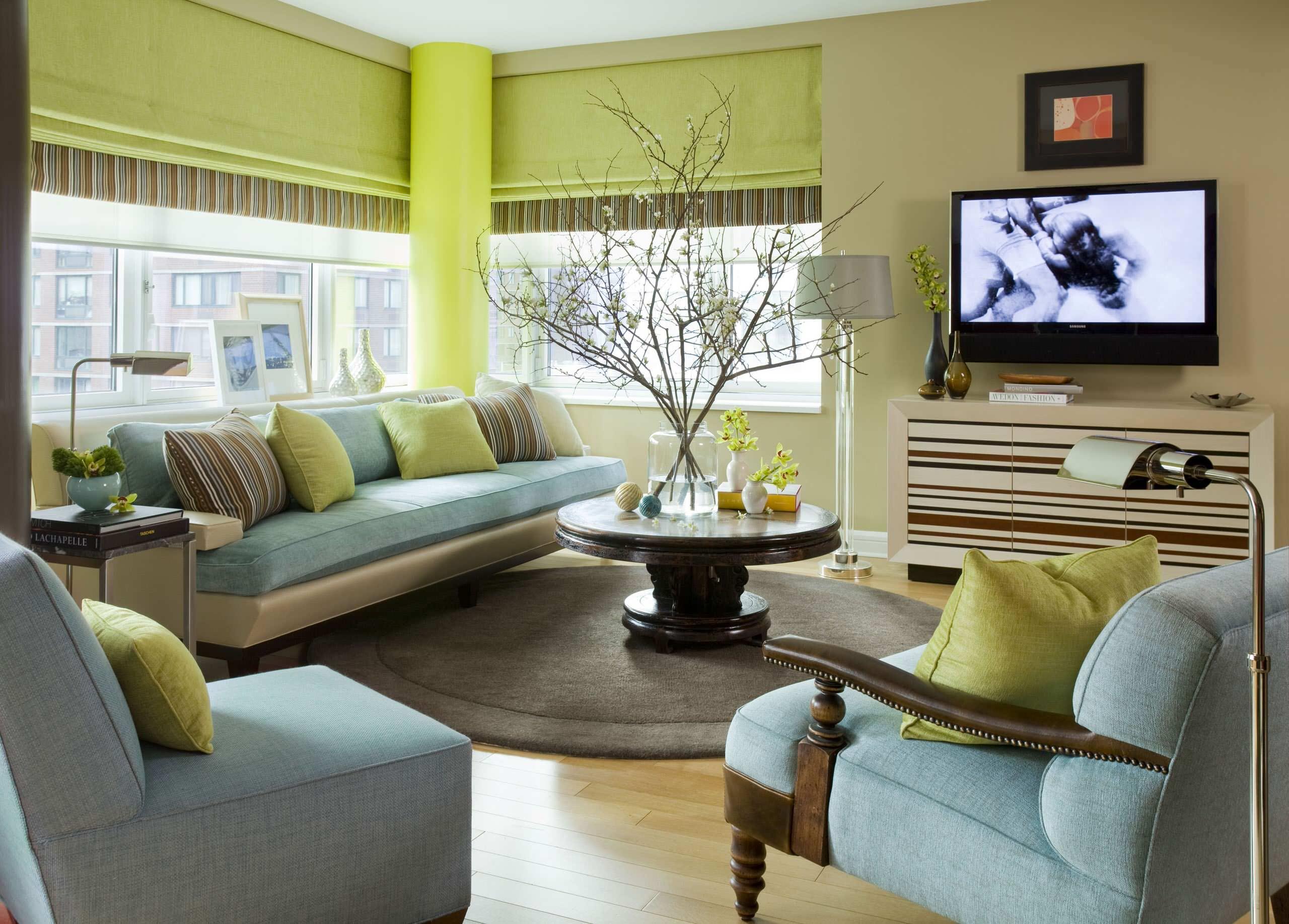 Как создать баланс энергий в гостиной?
