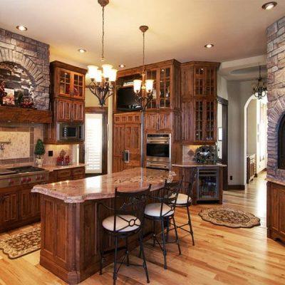 Кухонная мебель в интерьере