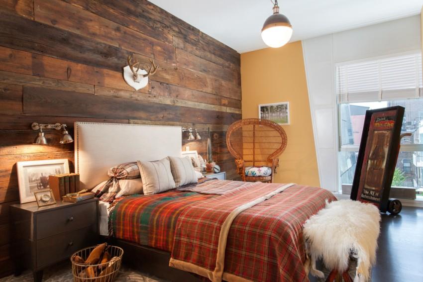 Сельский уют: спальня в деревенском стиле