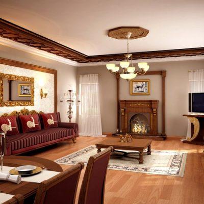 дизайн интерьере в классическом стиле