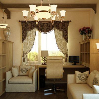 Уютная комната кабинета