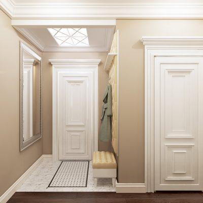 Двери с классическим узором
