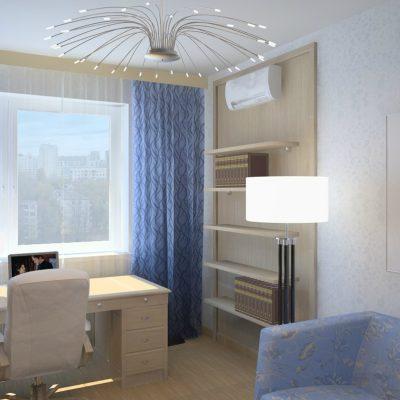 Голубая комната прованса