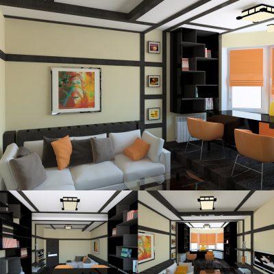 Дизайн японской квартиры