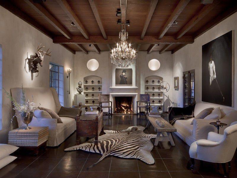 Контраст стен с потолком и полом
