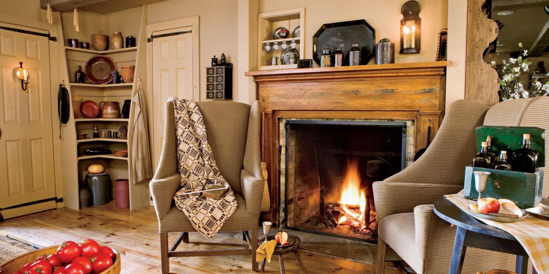 Деревенский стиль воплощает в себе уют, комфорт и спокойствие