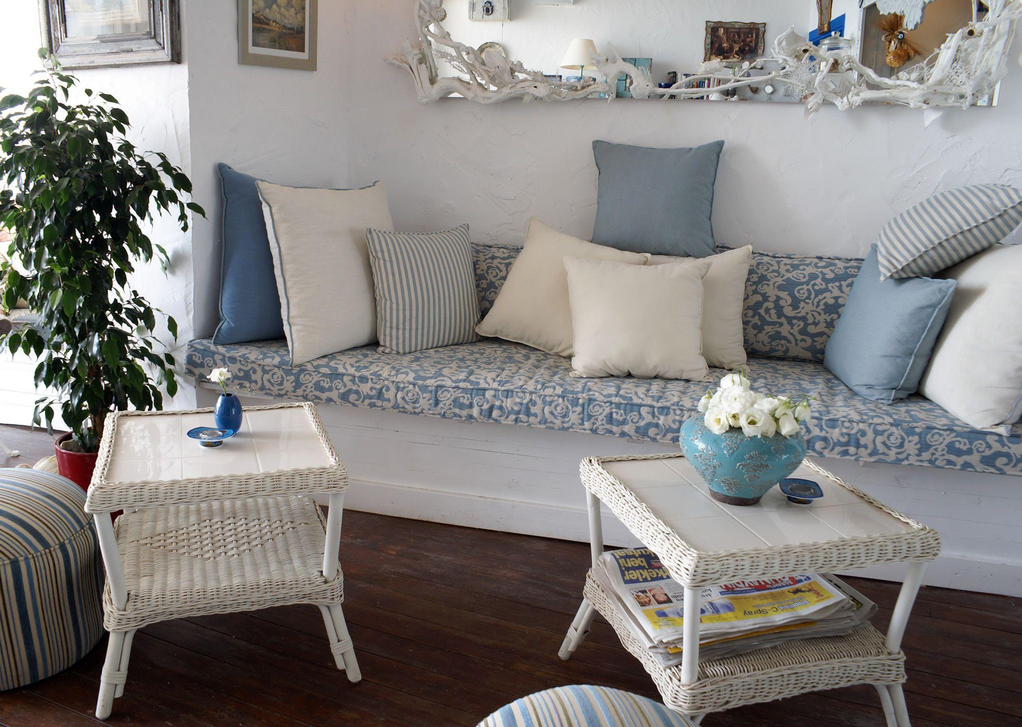 Плетеная мебельв интерьере