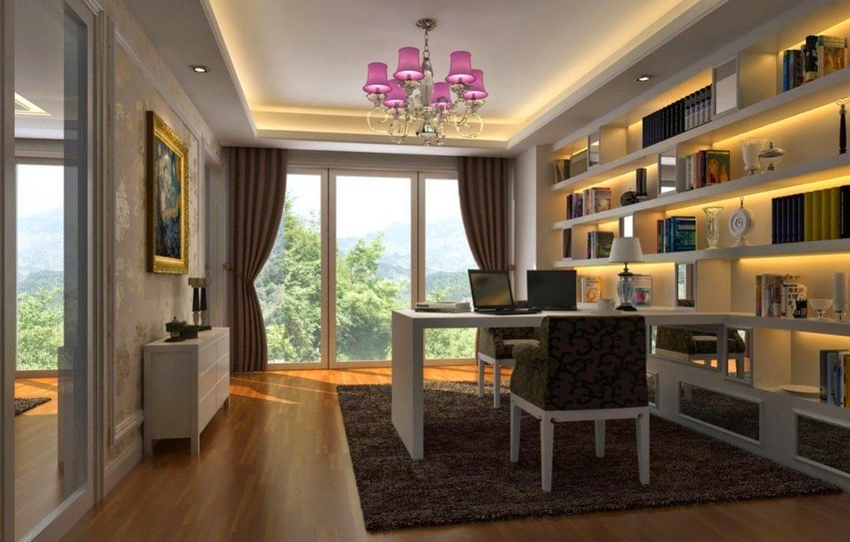 Принципы оформления кабинета в современном стиле