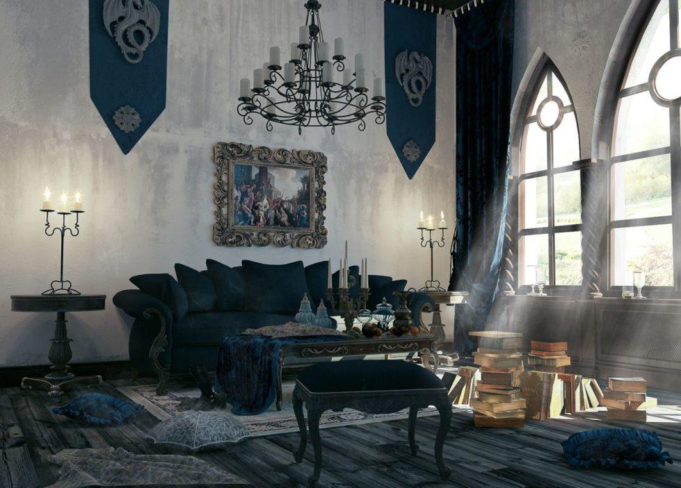 Кованые элементы в готическом стиле