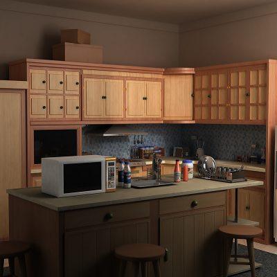 Небольшая кухня на фото