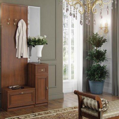 Классическая мебель в прихожей в стиле неоклассики