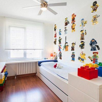 Детская в стилистике лего