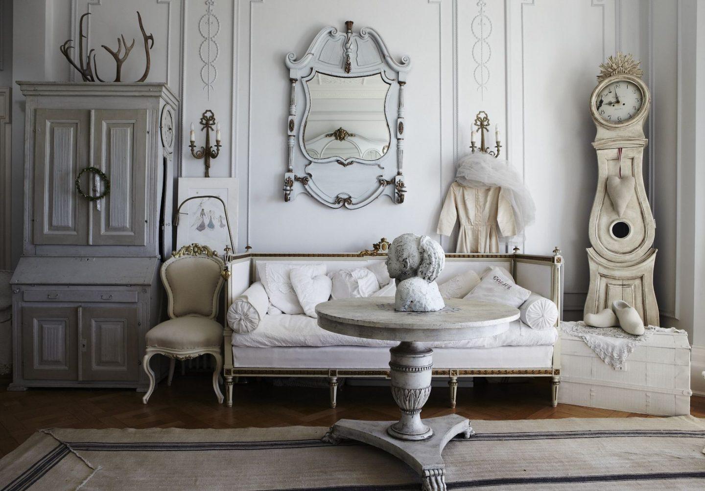 Потертая роскошь: комната в стиле шебби-шик