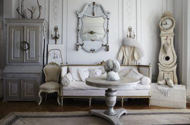 Комната в стиле шебби-шик