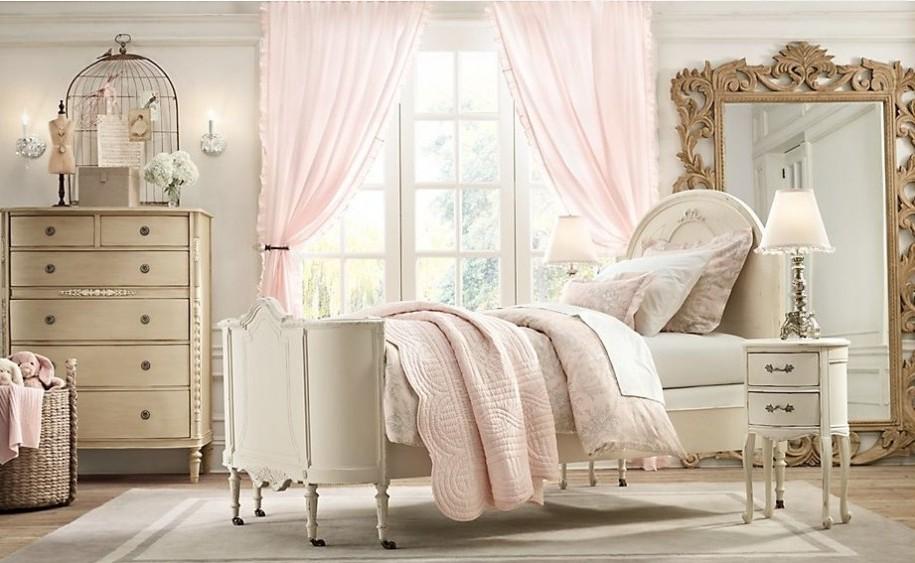 Светлые цвета - идеальный выбор для спальни