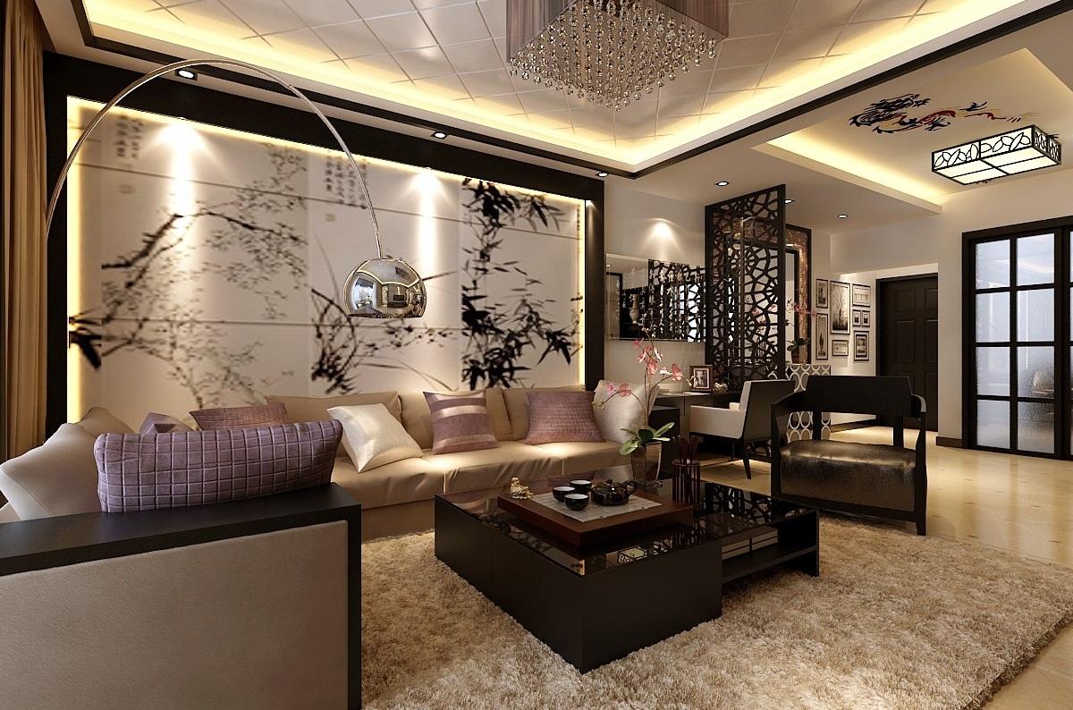 Для комнаты в китайском стиле характерны натуральные, сдержанные цвета